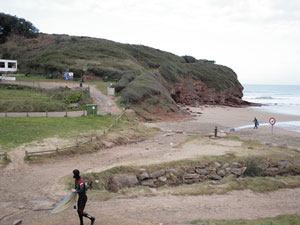 Playa de Xivares / Peña María