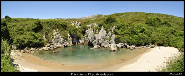 Foto Playa de Gulpiyuri