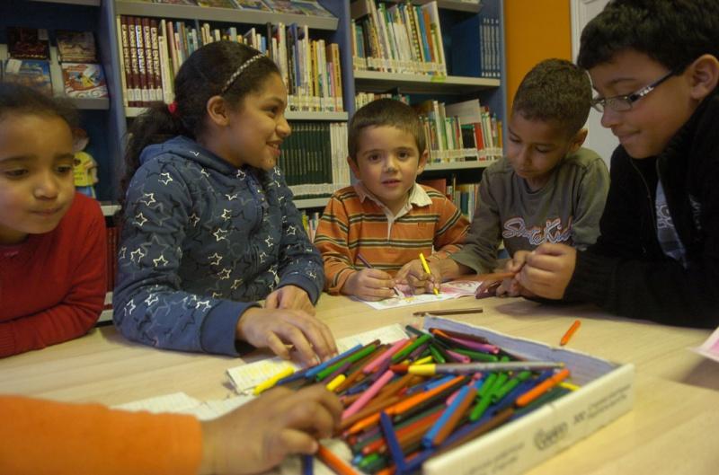 Niños en la Casa de Cultura