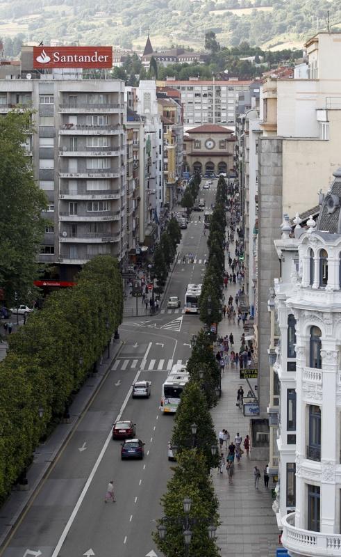 Recorrido fotográfico por Oviedo
