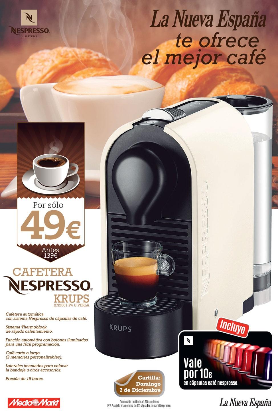Cafetera nespresso la nueva espana