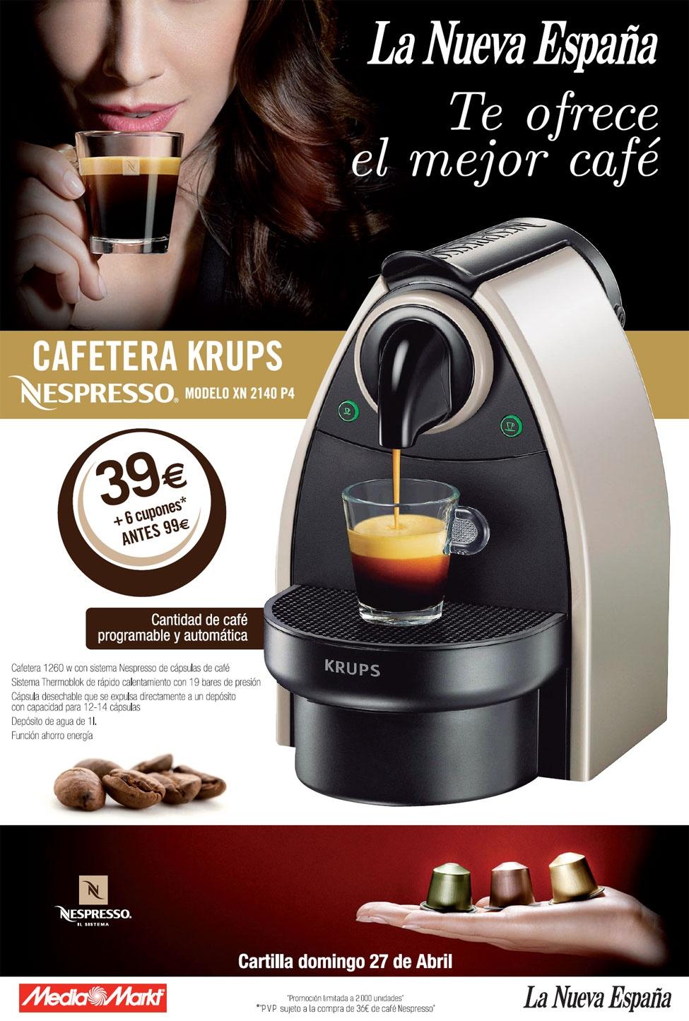 Cafeteras Krups Electrodomsticos