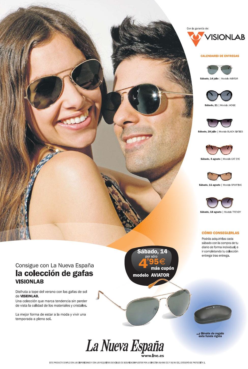 La colección de gafas Visionlab - Promociones La Nueva ...