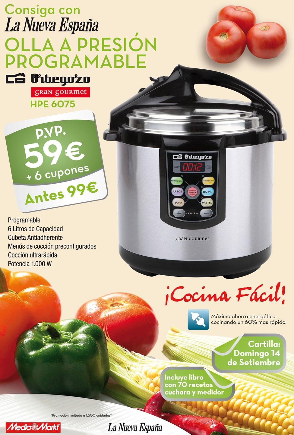 Hermoso cocina programable fotos comprar erika plus olla - Recetas prixton ...